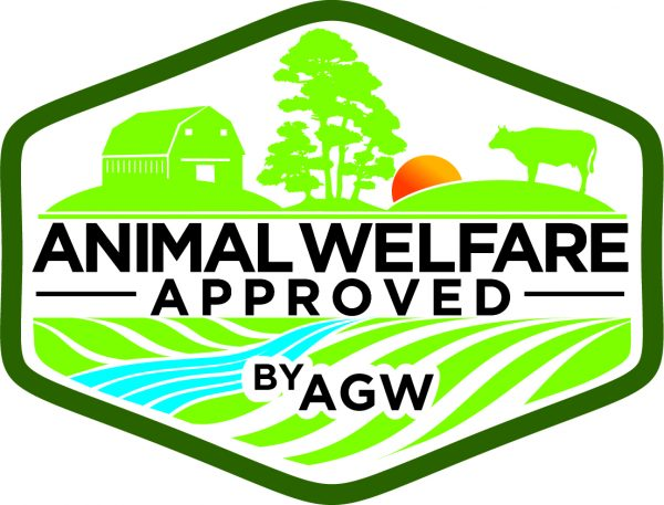 AGW Logo, Animal Welfare Approved
